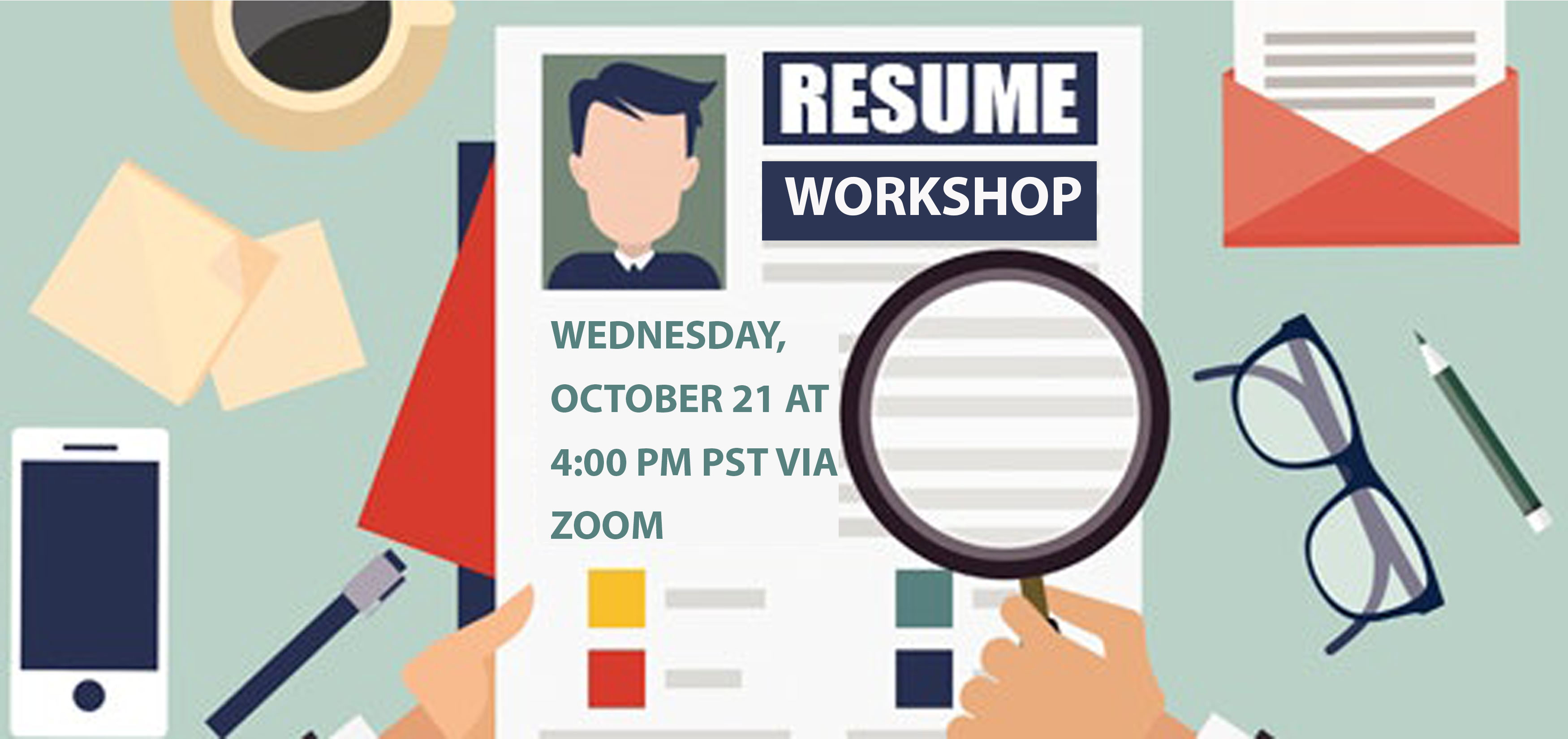 Resume Workshop Poster